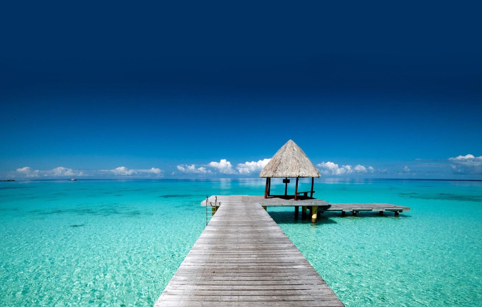 nice beach French Polynesia