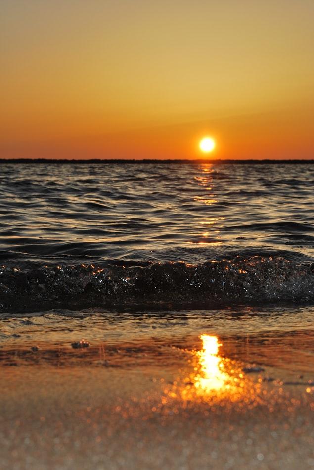 sea nature HD Sunset Wallpaper