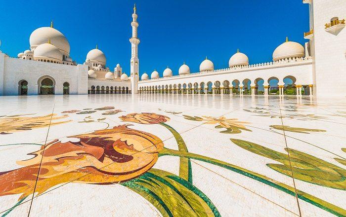 beautiful Sheikh Zayed Mosque