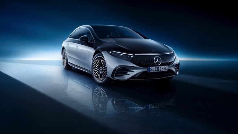 high quality Mercedes-Benz EQS 450+