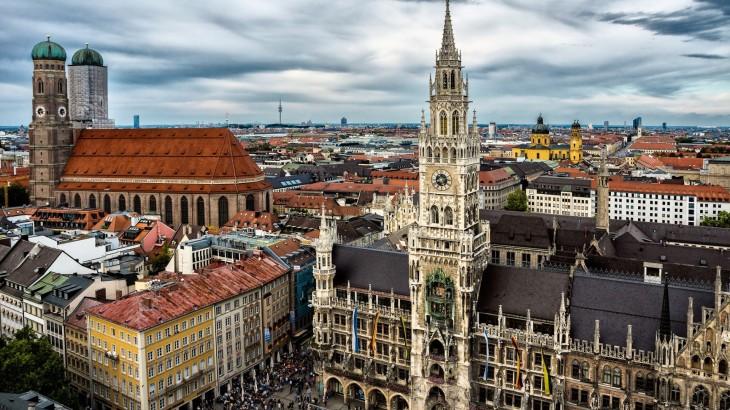 landscape nature Munich Wallpaper