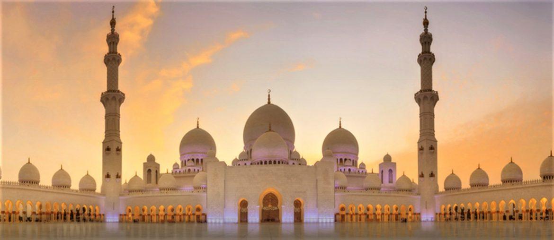 unique Sheikh Zayed Mosque image