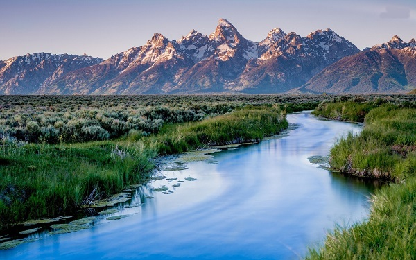 big mountain Grand Teton National Park