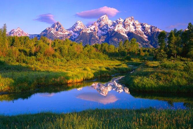 green field Grand Teton National Park