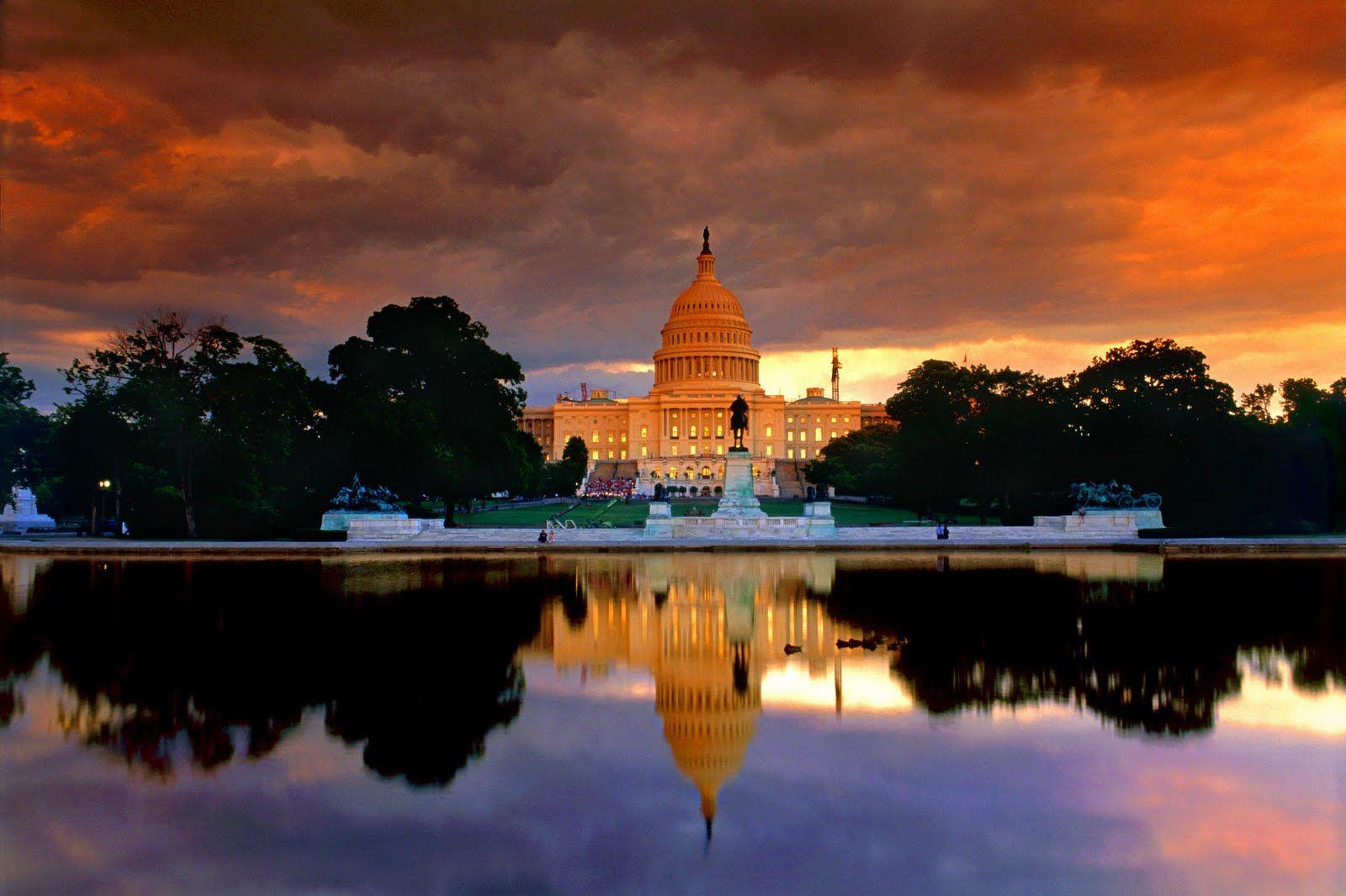 sundown Washington Wallpaper