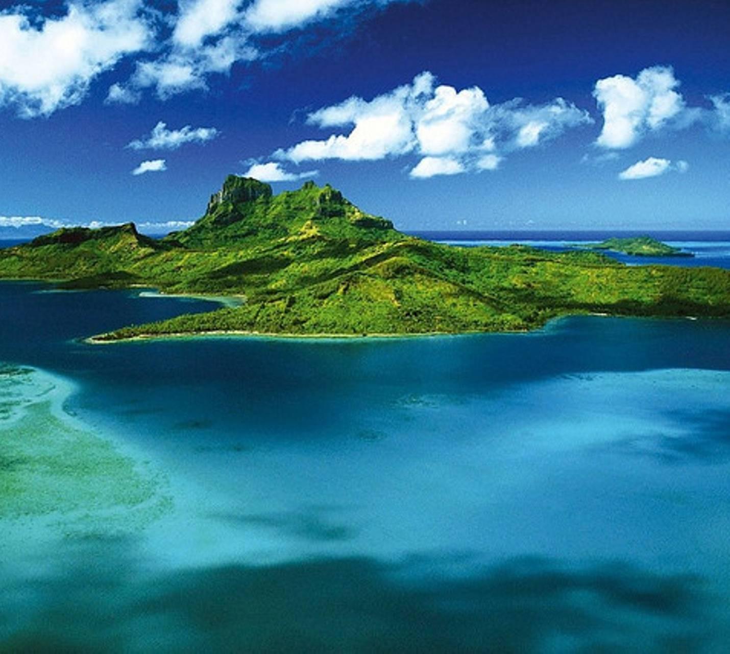 super natural French Polynesia Wallpaper