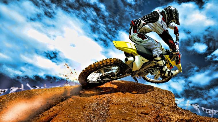 wallpaper of Motocross