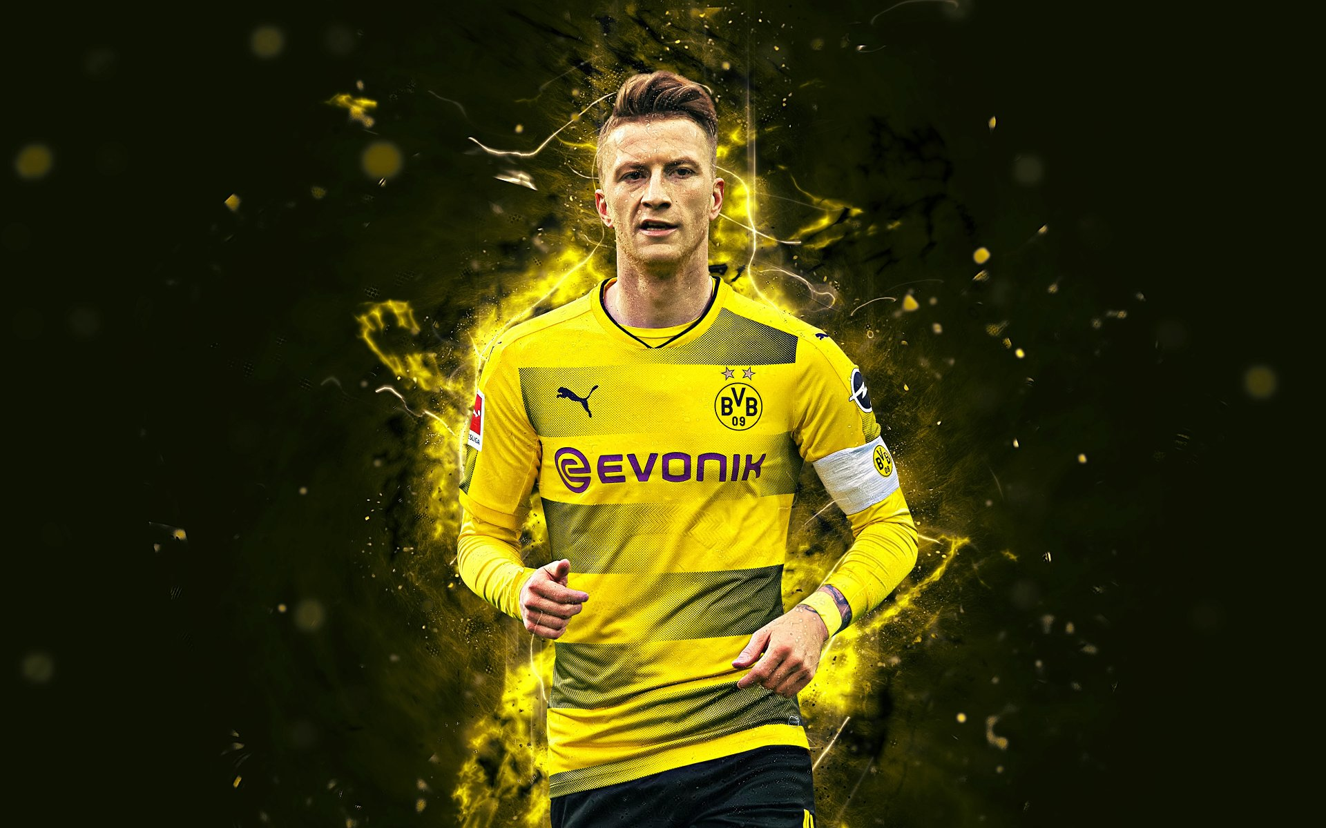 yellow dress Marco Reus Wallpaper