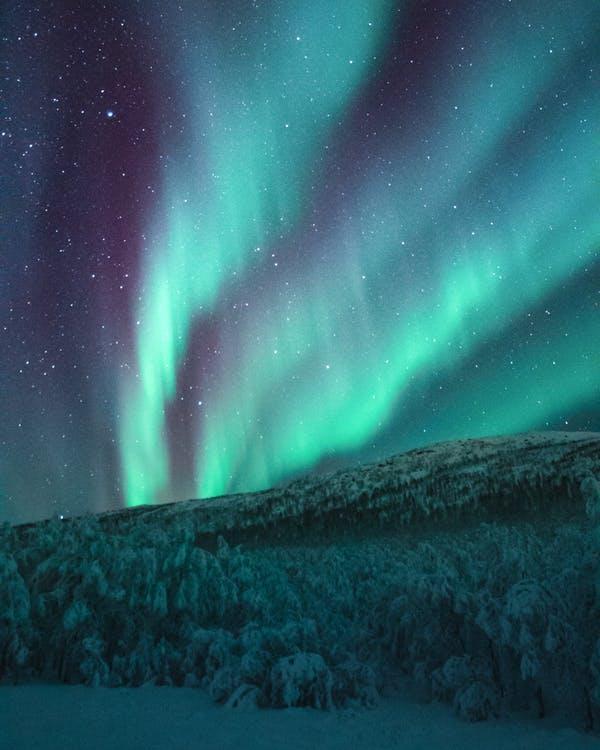 Aurora lights wallpaper