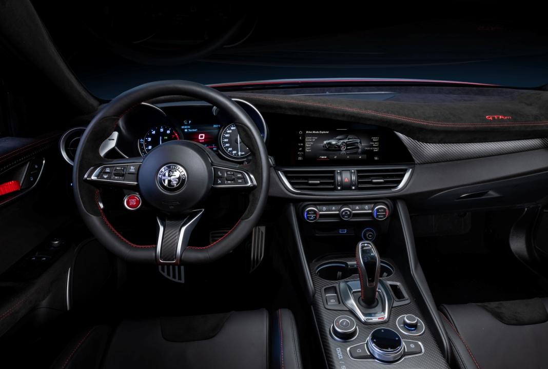 best inetior Alfa Romeo Giulia GTAm