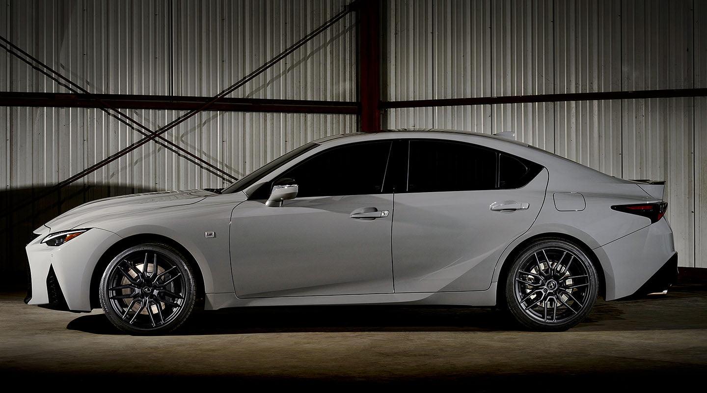 grey Lexus IS 500 F SPORT Performance image