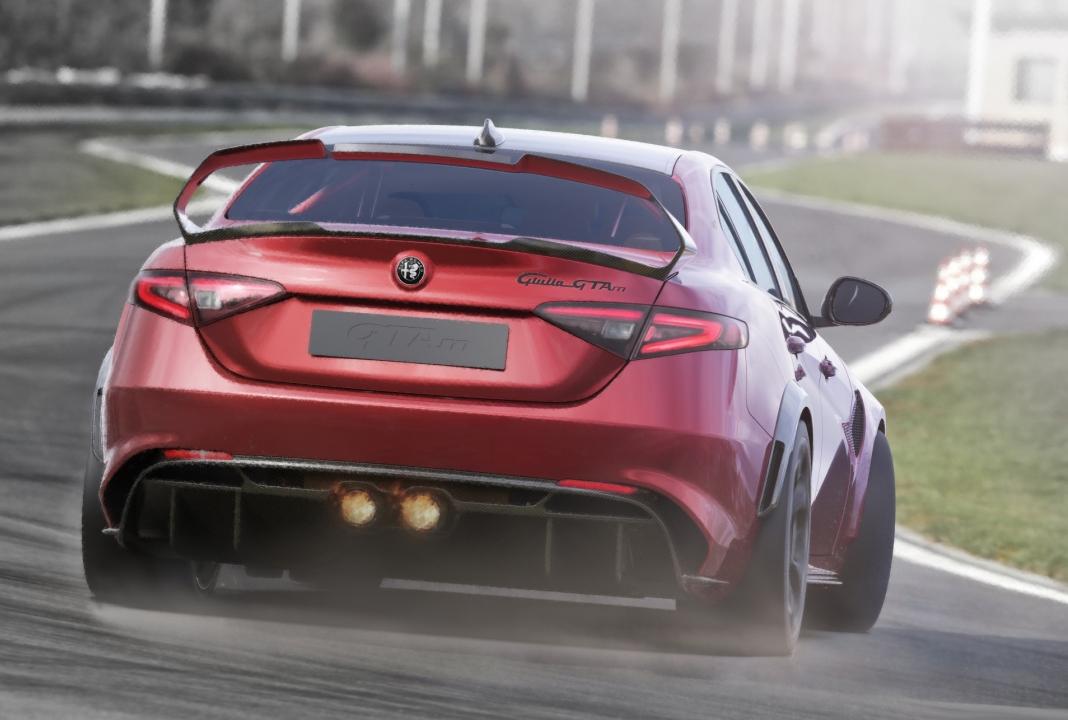 high quality Alfa Romeo Giulia GTAm