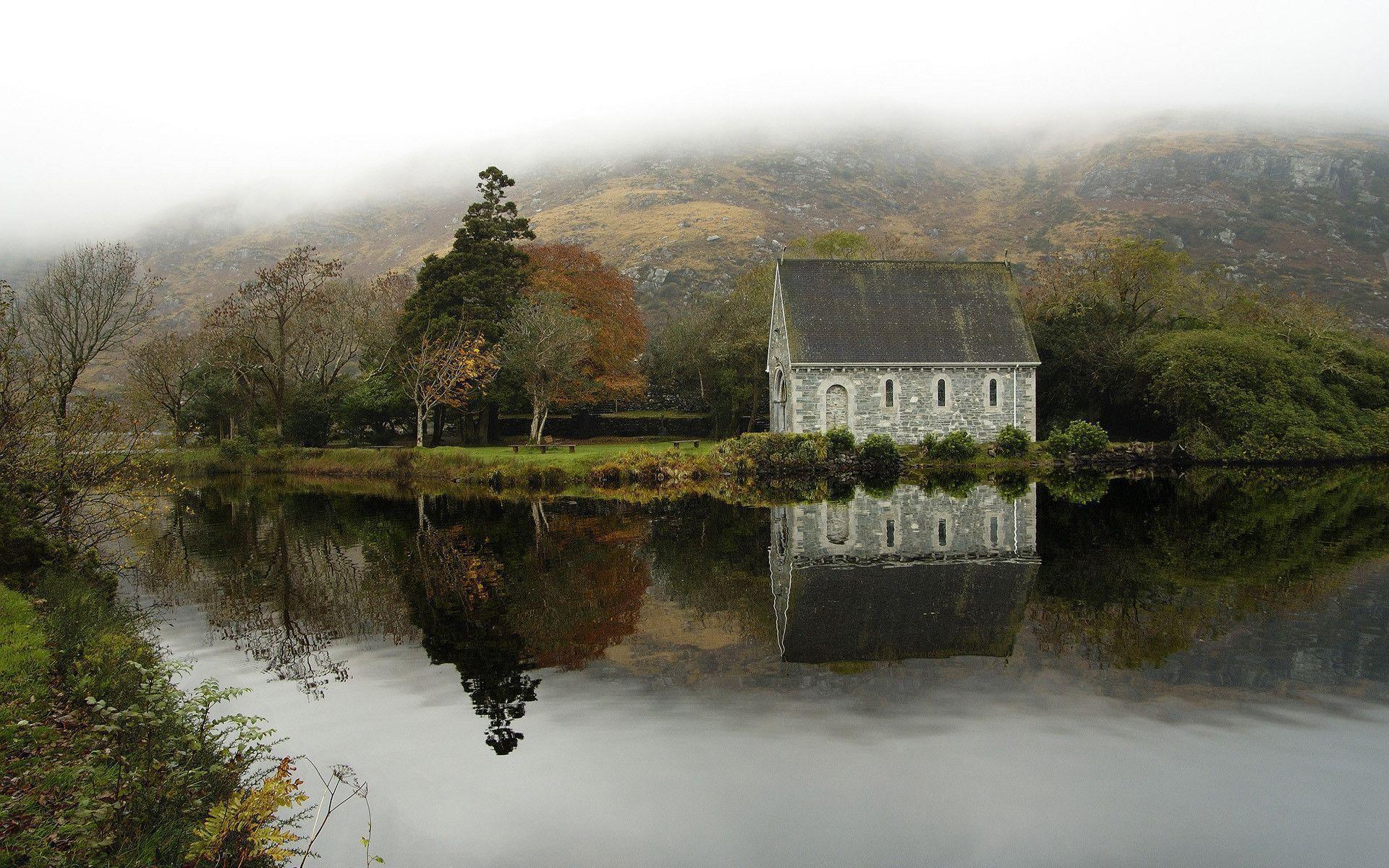 nice house Ireland Wallpaper
