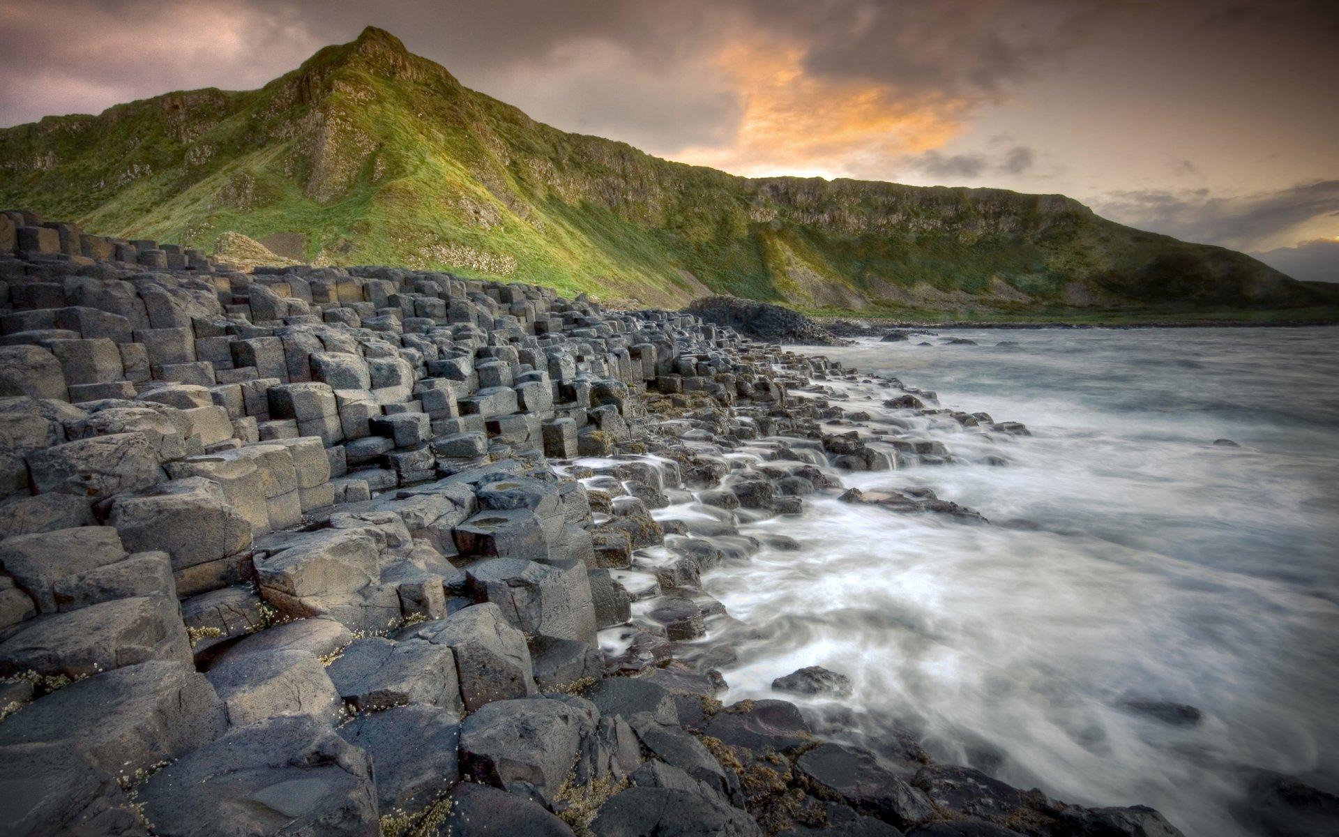 stones nature Ireland Wallpaper