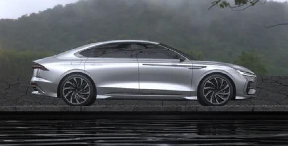 super car Lincoln Zephyr Reflection