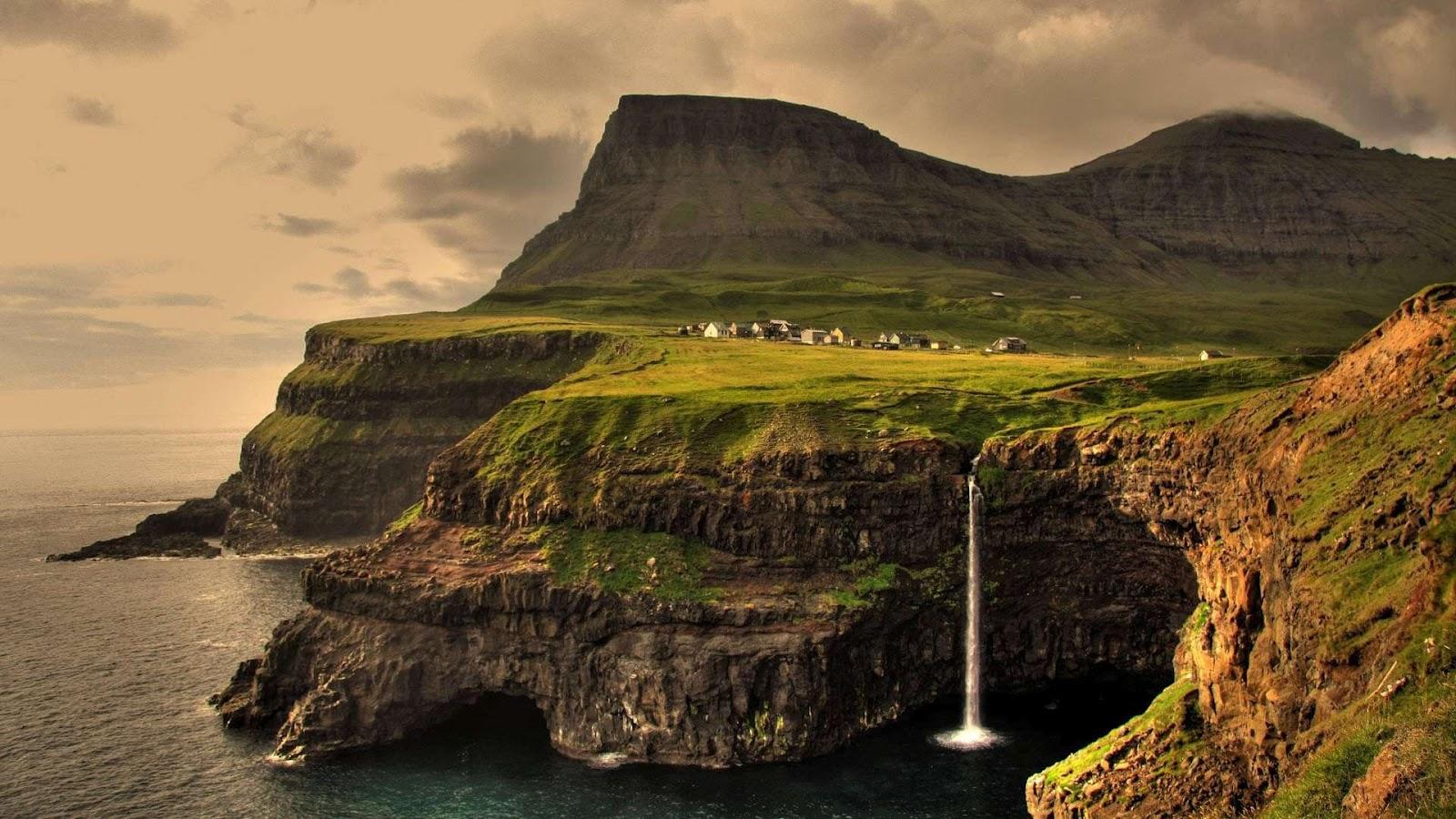 waterfall Ireland Wallpaper