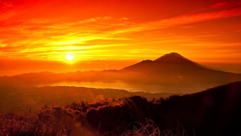 widescreen nature Sunrise Wallpaper