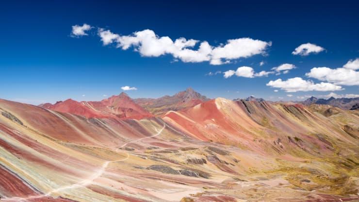 awesome Rainbow Mountains image