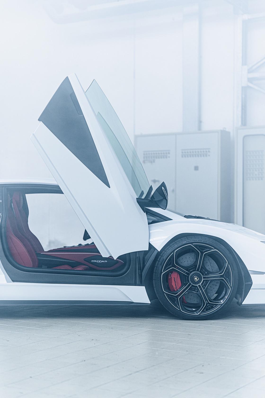 best interior Lamborghini Countach Lpi 800