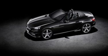 black Mercedes-Benz EQE 350 AMG image