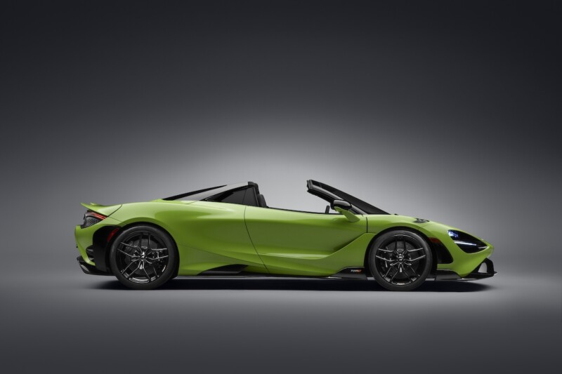 full top McLaren 765LT Spider image