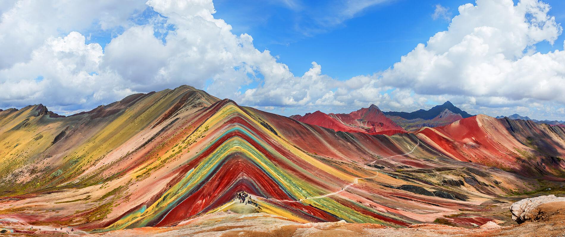 vinicunca rainbow mountain image