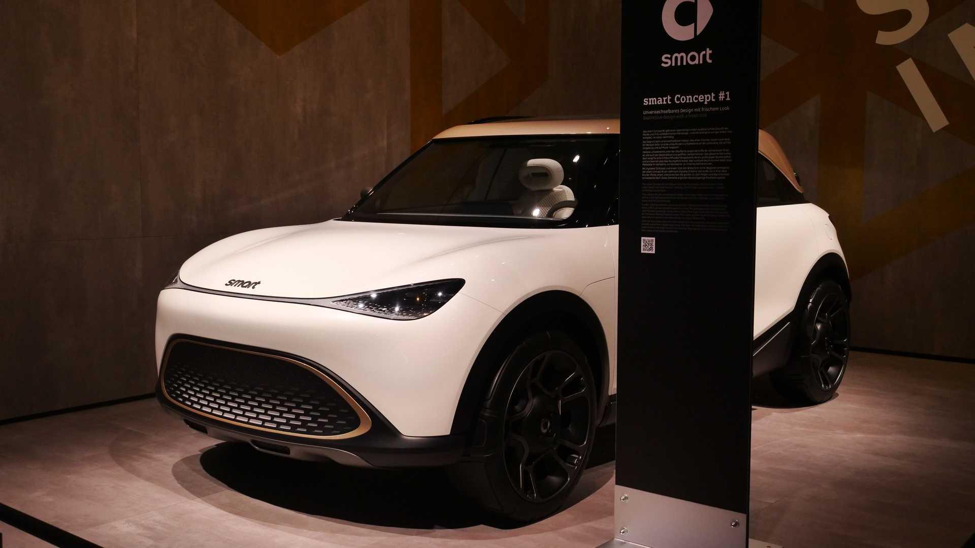 white car Smart Concept #1 image