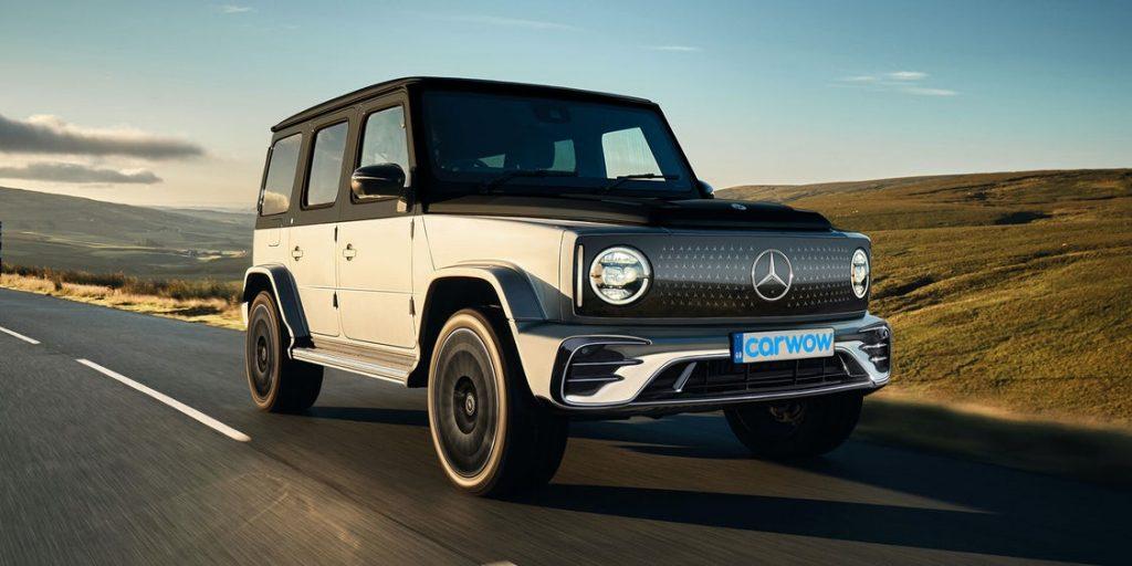 2020 Mercedes-Benz EQG wallpaper