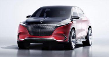 2021 model Mercedes-Maybach EQS