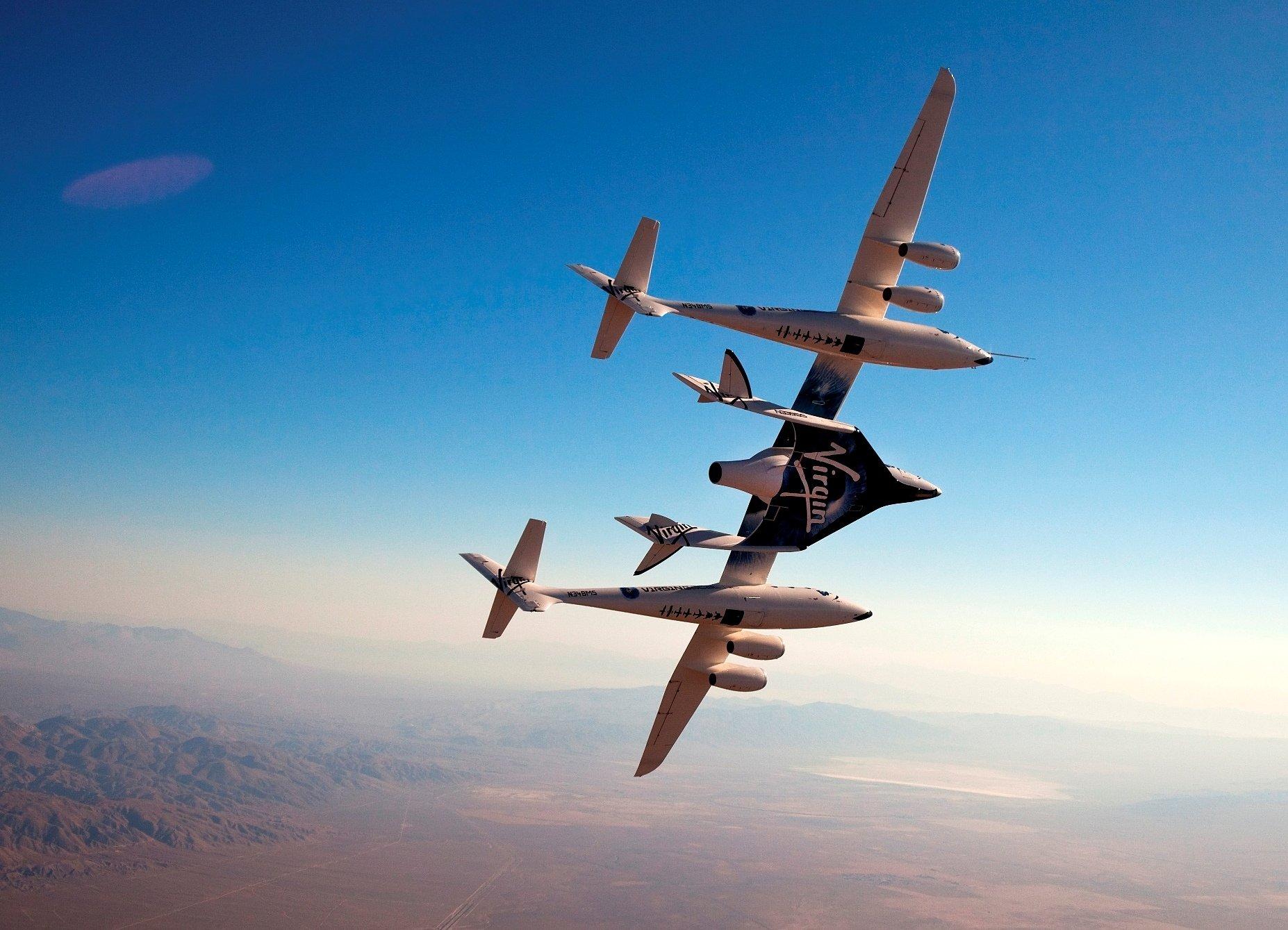 best SpaceShip Two Wallpaper