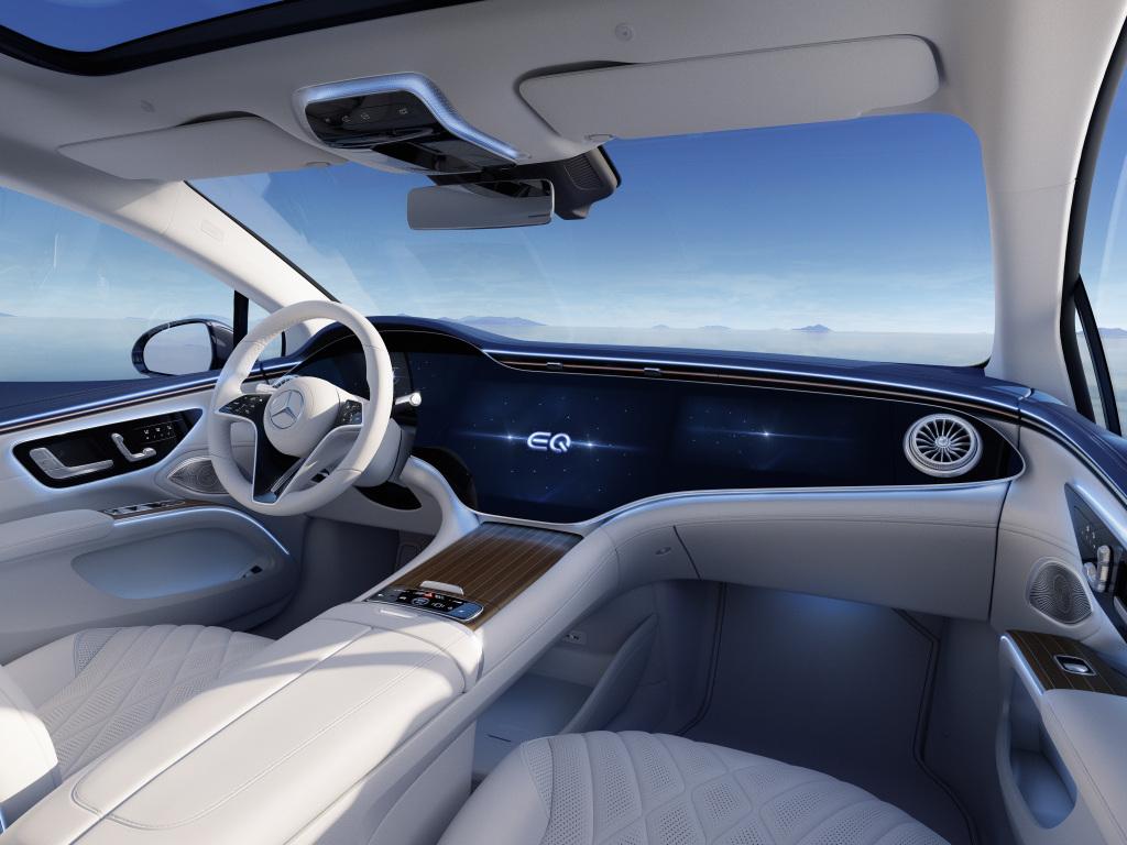 best inerior Mercedes-Benz EQG