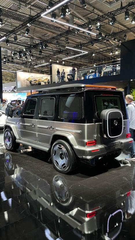 nice model Mercedes-Benz EQG