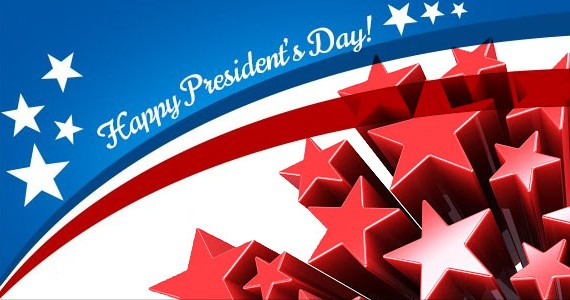 red star Presidents Day Wallpaper