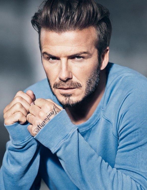 so cute David Beckham image